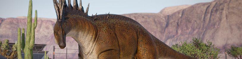 Jurassic World Evolution 2 představuje více i méně známé dinosaury