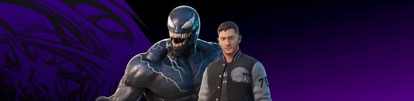 Fortnite vítá Toma Hardyho jako Venoma