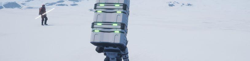 Bezplatný Walking Simulator připomíná Death Stranding a Goat Simulator