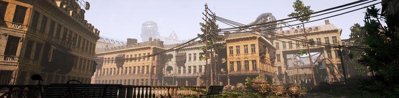 Industria se odehrává těsně po pádu Berlínské zdi a odkazuje na Half-Life 2