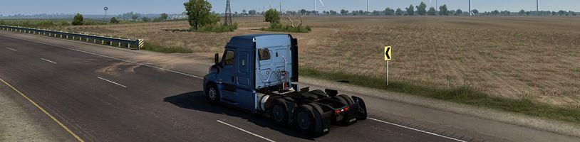 Další destinací American Truck Simulatoru je rozsáhlý Texas