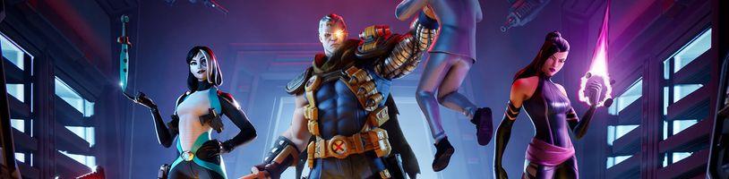 Do Fortnitu pichádza s Deadpoolom aj zvyšok jeho X-Force