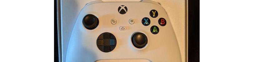 Xbox Series S potvrzen na fotografiích nového ovladače Xboxu