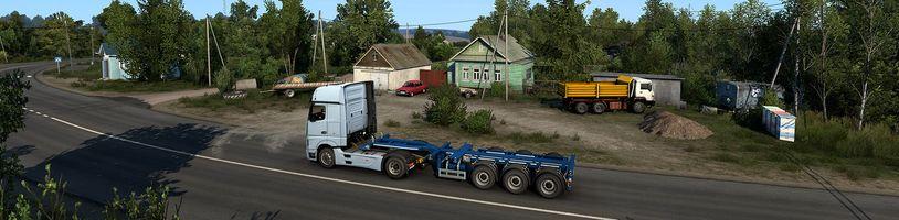 Ruské vesnice v Euro Truck Simulator 2