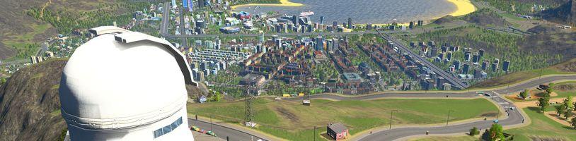 Na Steamu si můžete vyzkoušet Cities: Skylines
