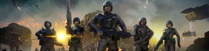 Podle filmu Hvězdná pěchota vzniká survival real-time strategie