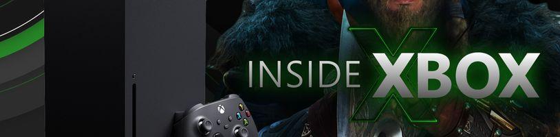 Nové hry pro Xbox Series X + AC: Valhalla, sledujte český přenos INSIDE XBOX