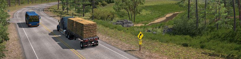 Odlišné tváře Idaho v American Truck Simulatoru