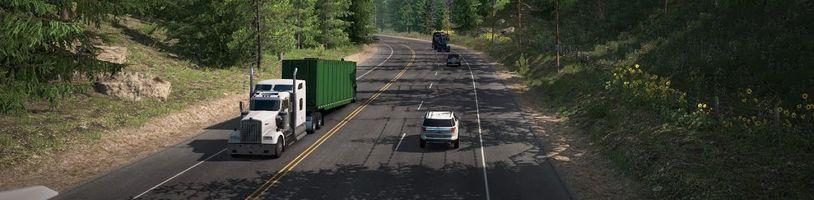 Naznačení dalšího rozšíření mapy American Truck Simulatoru