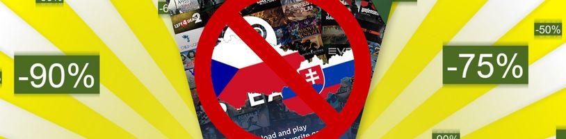 Česko a Slovensko příliš zaostalé na nové dárkové Steam kupóny!
