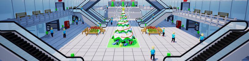 Česká hra Mall Craze jde po stopách původní série Mall Tycoon
