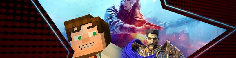 (Ne)autentické hry (BFV), Minecraft na Netflixu a český dabing ve hrách