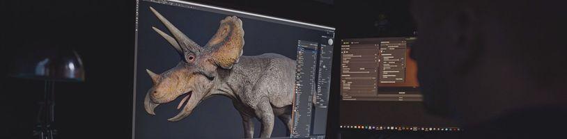 České studio vytvořilo díky nové technologii nejrealističtější zobrazení dinosaurů