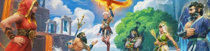 Třetí rozšíření Immortals Fenyx Rising se odehraje z pohledu božího oka