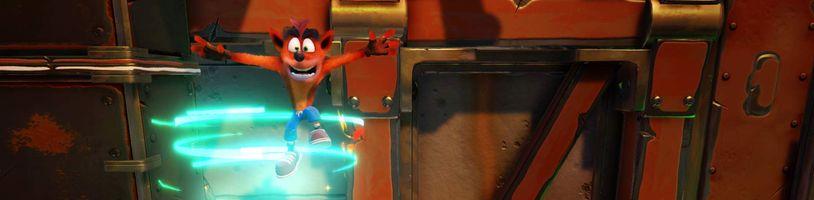 Crash Bandicoot je zpět a v N. Sane Trilogy je lepší, než si pamatujeme