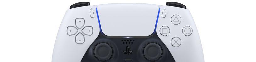 Tichý PlayStation 5 a detailní fotky konzole i ovladače DualSense