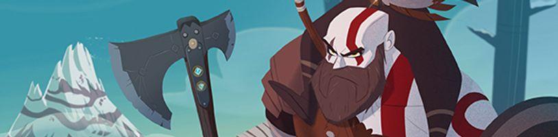 Kratos z God of War je mimoriadne roztomilý v ilustrovanej detskej knižke