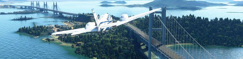 Microsoft Flight Simulator bude mít detailnější Japonsko