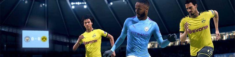 Více než 10 milionů hráčů si zahrálo FIFA 20