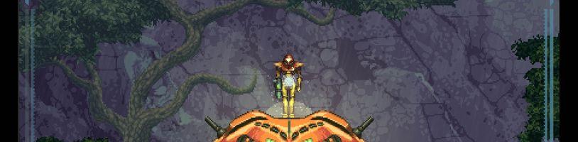 Fanouškovský projekt Metroid Prime 2D má konečně hratelné demo