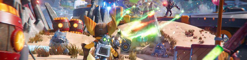 Ratchet & Clank: Rift Apart ukazuje různé zbraně. Spekuluje se o PC verzi