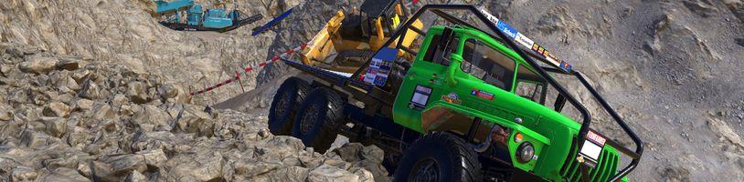 V Heavy Duty Challenge nasednete do kamionu a překonáte s ním velmi obtížný terén