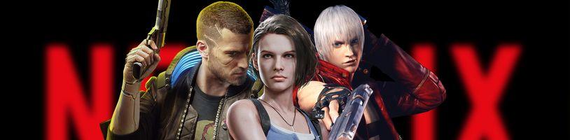 7 videoherných adaptácií od Netflixu, na ktoré čakáme