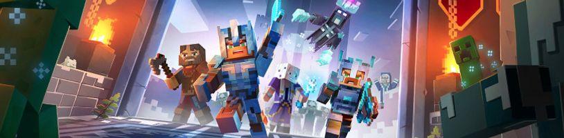 Do Minecraft Dungeons přichází zima s balíčkem Creeping Winter