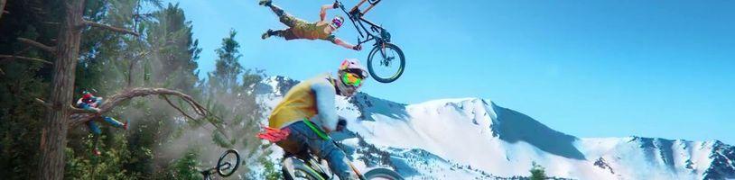 Adrenalinová sportovní hra Riders Republic potřebuje více času