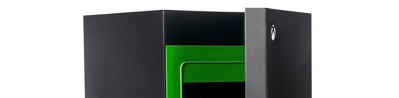 Xbox miniledničky skoupili překupníci