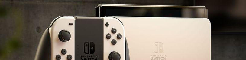 Žádný Switch Pro. Místo výkonnější konzole přichází OLED model Nintenda Switch