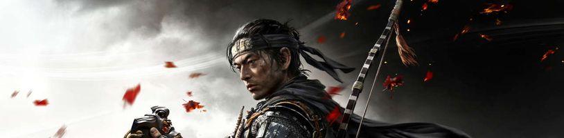 PS4 exkluzivita Ghost of Tsushima si podmanila USA a Japonsko