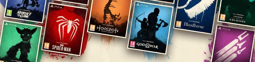 PlayStation 4 exkluzivity se začaly prodávat v nové edici se speciálním artworkem
