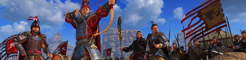 Tvůrci Total War pracují na nové hře ze světa čínských Tří říší