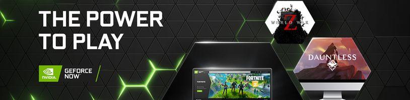 Knihovna GeForce Now bude pravidelně rozšiřována o nové hry