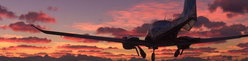 Nový Microsoft Flight Simulator zaujme nejen detailní grafikou