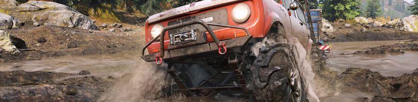 Off-road simulátor SnowRunner v emotivním traileru naráží na Death Stranding