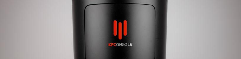 Konzole od KFC má být velmi výkonná a ohřeje vám i kuře