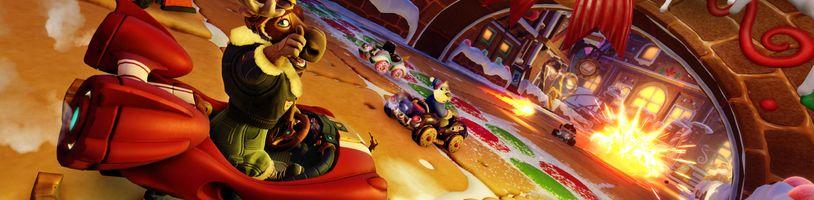 Crash Team Racing: Nitro-Fueled čekají zimní radovánky