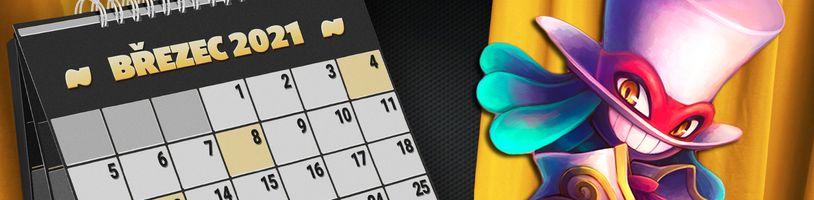 Kalendář hráče: Nejzajímavější hry března
