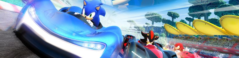 Team Sonic Racing učí hráče spolupracovat