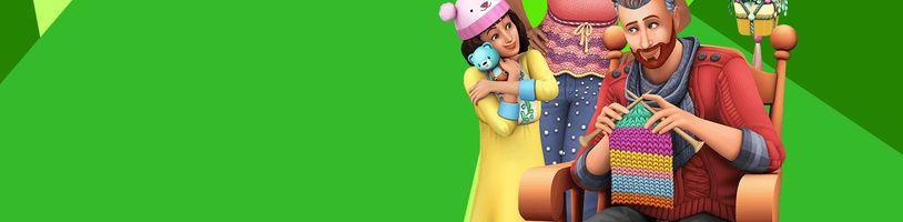 Komunitou zvolená kolekce do The Sims 4 - Parádní pletení