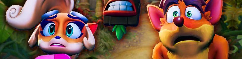Crash Bandicoot 4: It's About Time je pecka napěchovaná nostalgií