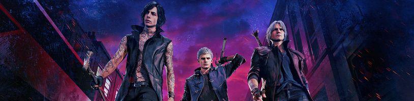 Devil May Cry 5 přináší originální hratelnost třech rozličných postav v jedné hře