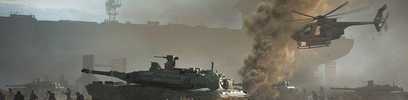 Battlefield 2042 si budeme moci v betě vyzkoušet příští týden