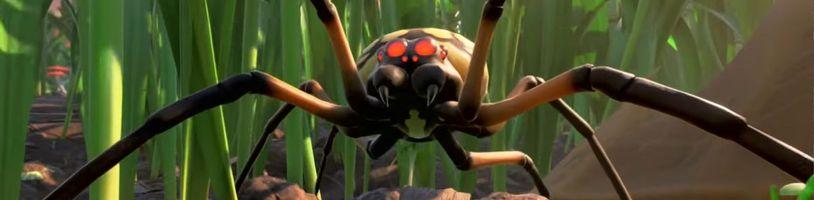 Mravenci, pavouci a jiný hmyz. To jsou nepřátelé v netradičním survivalu Grounded