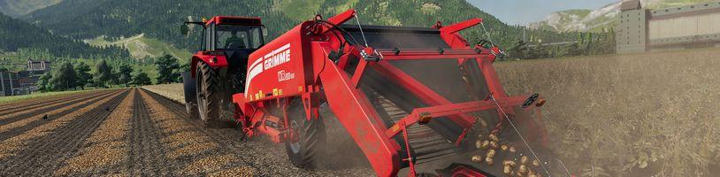 Farming Simulator 19 se zaměřil na brambory
