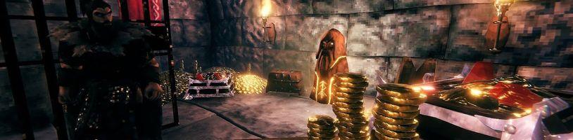 Vikinský survival Valheim se zaměří na zlato