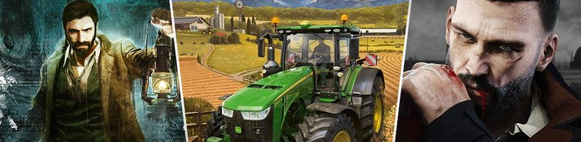 Na Switchi si zahrajete brzy i Call of Cthulhu, Vampyr a Farming Simulator 20