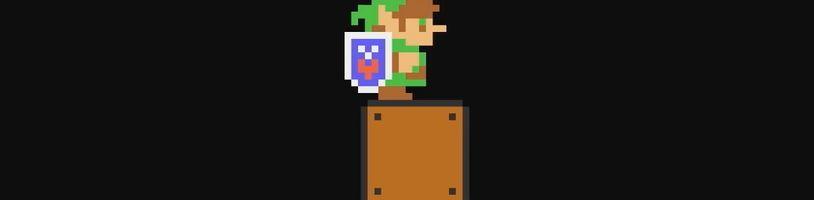 V Super Mario Maker 2 si zahrajeme za Linka